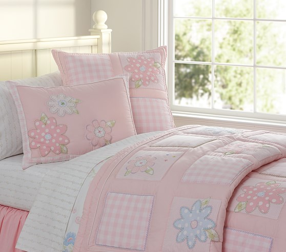 Mckenna Quilted Bedding Pottery Barn Kids