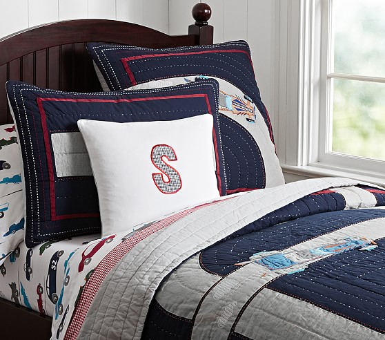 Race Car Quilted Bedding