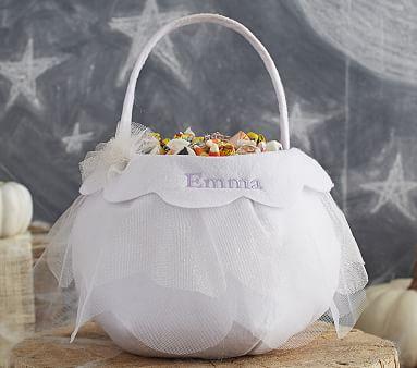 White Tulle Treat Bag Pottery Barn Kids