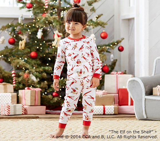 The Elf On The Shelf 174 Cotton Tight Fit Pajamas Pottery