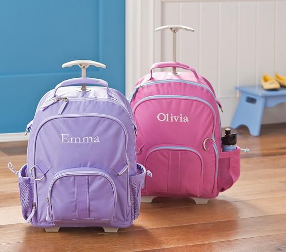Kids Rolling Backpacks For Girls