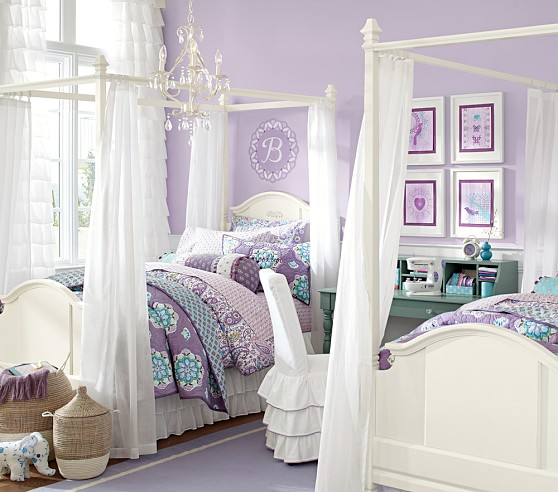 canopy bed with trundle 2