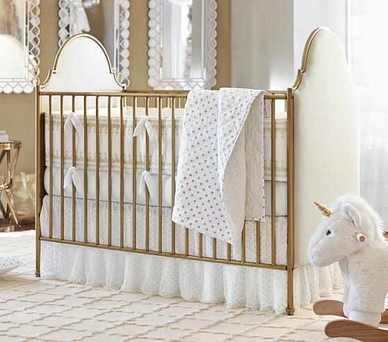 Gold Dot Nursery Bedding Set