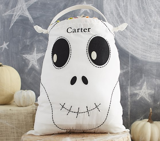 Skeleton Pillowcase Treat Bag