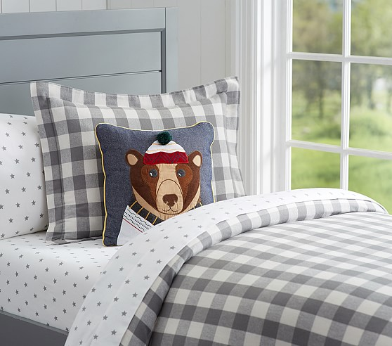 Lodge Plaid Duvet Cover Pottery Barn Kids