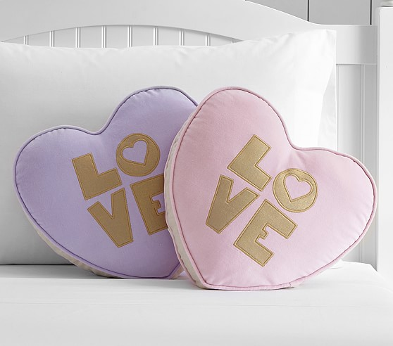 Velvet Heart Decorative Pillow