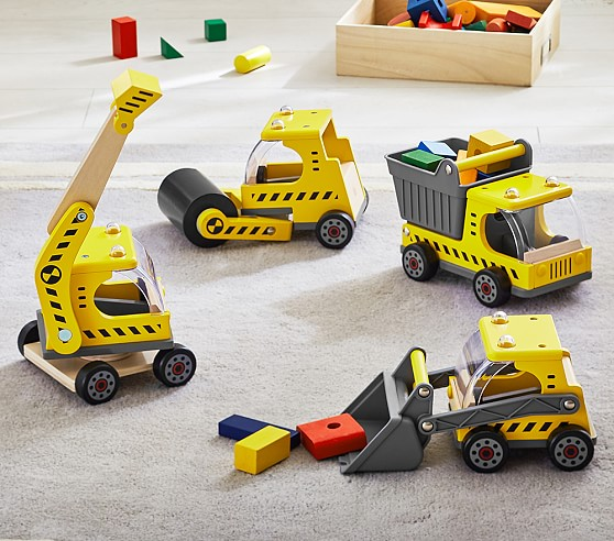 Construction Vehicle Toys For Boys : Construction vehicles pottery barn kids