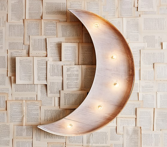 Marquee Light Up Moon
