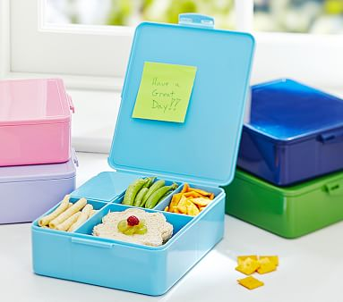 spencer bento box containers pottery barn kids. Black Bedroom Furniture Sets. Home Design Ideas