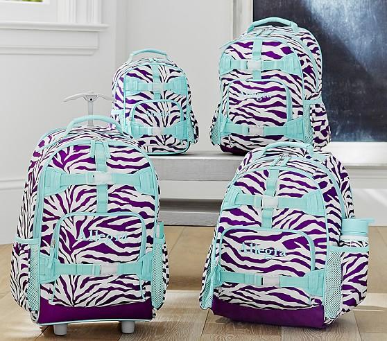 zebra rolling backpack Backpack Tools
