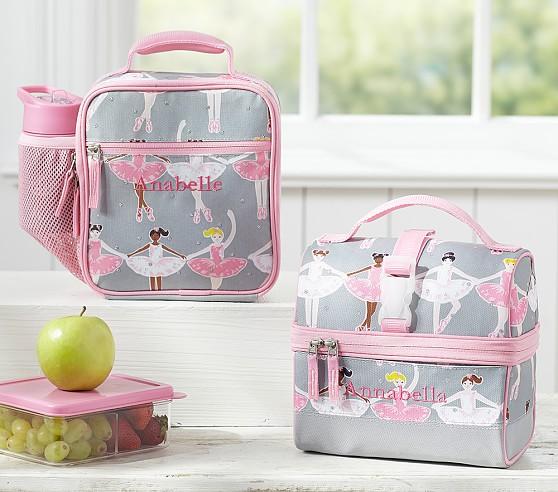 Mackenzie Glitter Ballerina Lunch Bags
