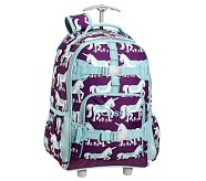 Rolling Backpack, Mackenzie Plum Unicorn