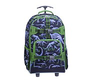 Rolling Backpack, Mackenzie Blue Dino