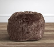 Sunbear Faux Fur Anywhere Beanbag®