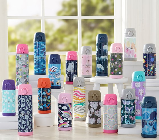 Mackenzie Insulated Water Bottles Pottery Barn Kids
