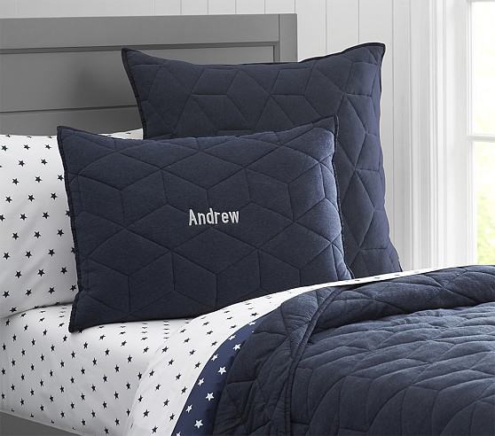 Jersey Quilted Bedding Pottery Barn Kids
