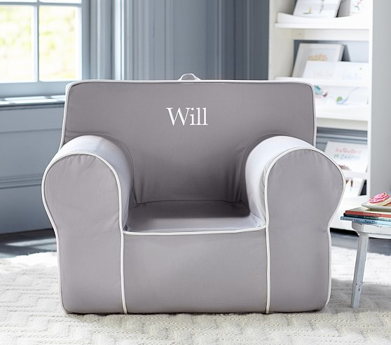 Oversized Anywhere Chair 174 Collection Pottery Barn Kids