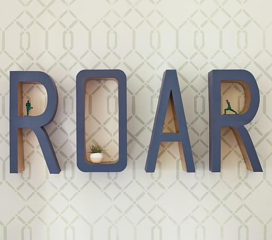 "Pottery Barn Furniture Return Policy: ""Roar"" Wall Decor"