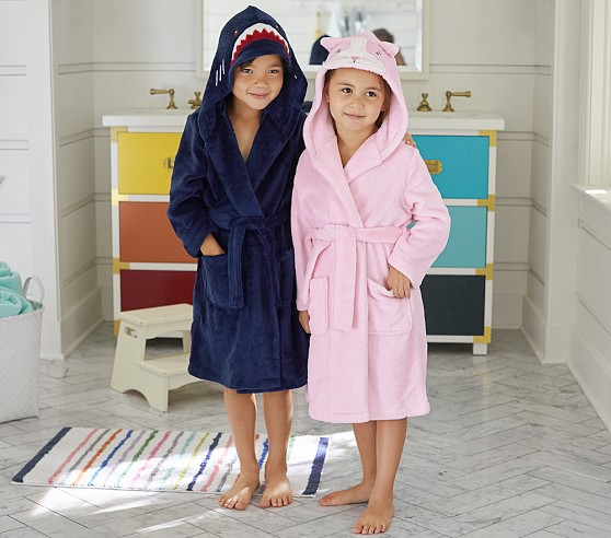 kids animal themed bath towels