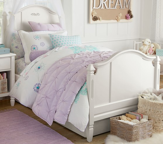 butterfly appliqu duvet cover pottery barn kids