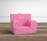Bright Pink Heart My First Anywhere Chair®