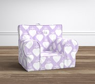 Lavender Ikat Heart Anywhere Chair®