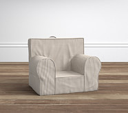 Khaki Gingham My First Anywhere Chair®