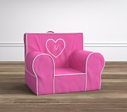 Bright Pink Pearl Dot Anywhere Chair®