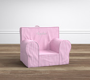 My First Anywhere Chair® Insert & Slipcover Set, Pink Gingham