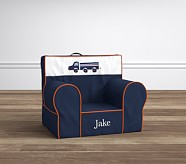 Navy Truck My First Anywhere Chair®