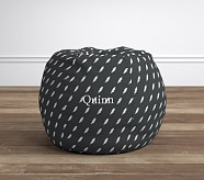 Gray Lightning Anywhere Beanbag®