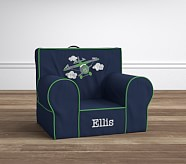 Navy & Green Airplane Anywhere Chair®