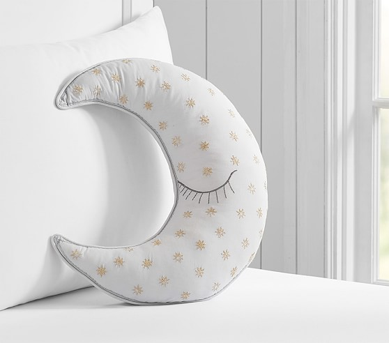 Decorative Pillows From Pottery Barn : Moon Decorative Pillow Pottery Barn Kids
