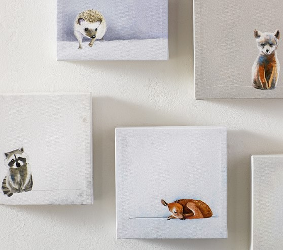 Baby Animals Framed Art - Set Of 5