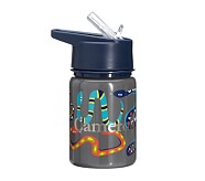 Mackenzie Water Bottle Gray Jungle Snake