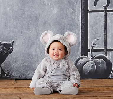 Cozy Baby Mouse Costume Pottery Barn Kids