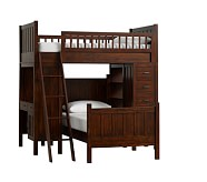 Camp Bunk System with Twin Bed, Tuscan