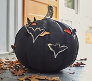 Halloween Bat Cutout Luminary