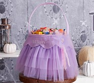 Halloween Tulle Treat Bag - Lavender