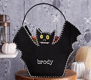 Halloween Shaped Felt Tote Treat Bags - Bat