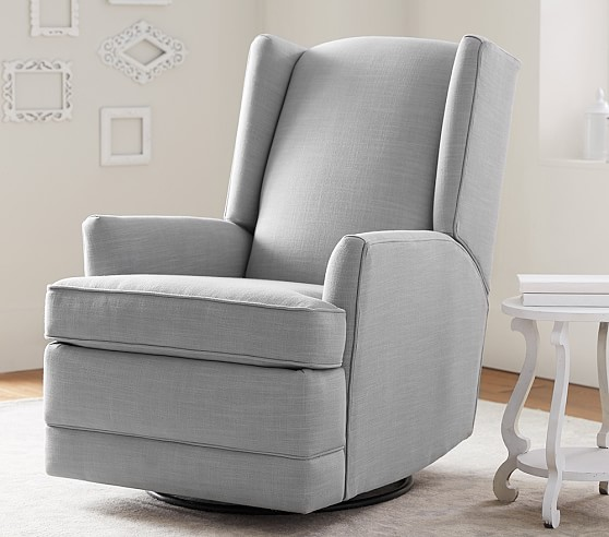 Modern Wingback Rocker Amp Recliner Pottery Barn Kids