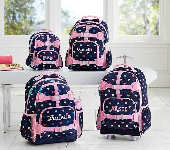 Love these pretty backpacks