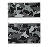 Notebook, Mackenzie Gray Shark Camo