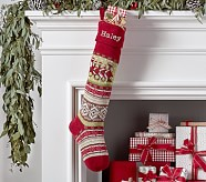 Train Classic Fair Isle Stocking