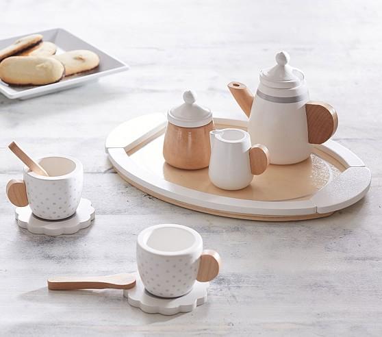 Wooden Tea Set Pottery Barn Kids