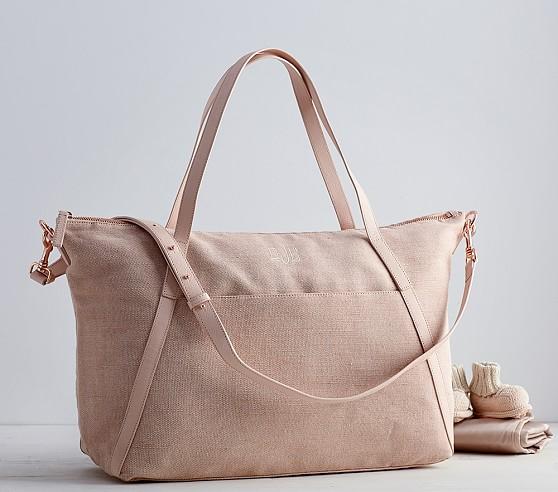 monique lhuillier blush diaper bag pottery barn kids. Black Bedroom Furniture Sets. Home Design Ideas