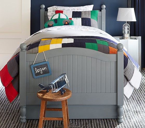 Catalina Bed Charcoal Pottery Barn Kids