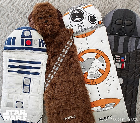 starwars themed sleeping bags
