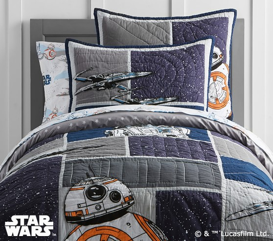 Star Wars Droid Quilted Bedding Pottery Barn Kids
