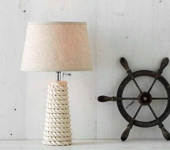 Rope Coil Lamp Base Pottery Barn Kids